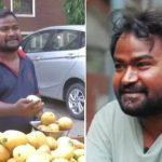 கொரோனாவால் மாம்பழம் விற்கும் நடிகர் சோலங்கி திவாகர்
